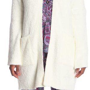 Josie Fuzzy Open Front Cardigan